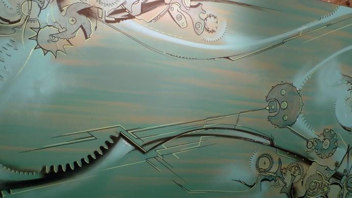 Xavier Magaldi-Horological Street Art