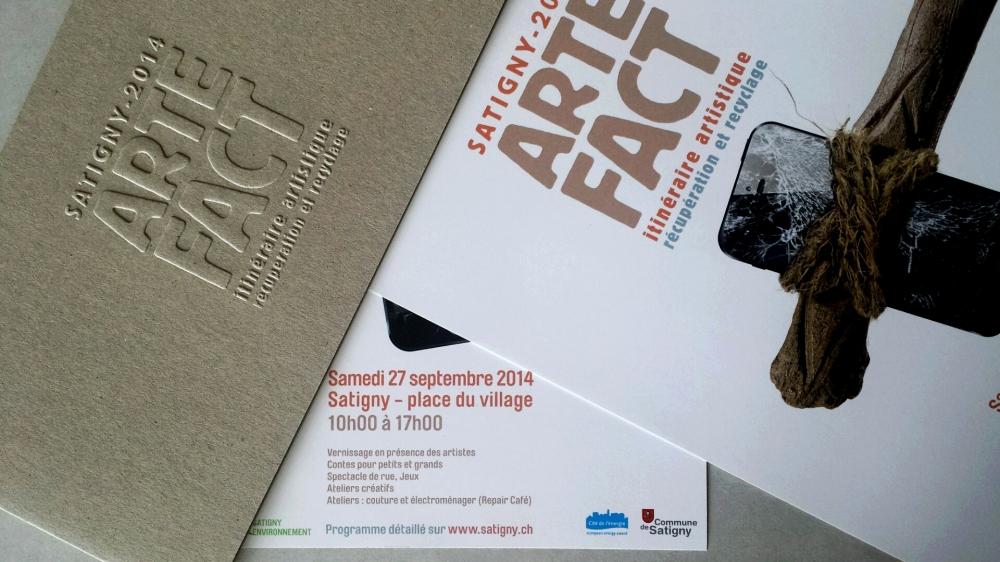 Artefact Satigny 2014