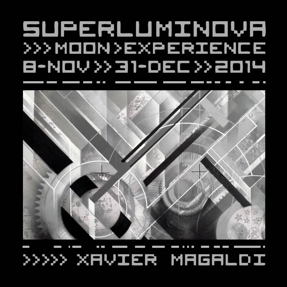 Xavier Magaldi SuperLuminova Moon Experience 2014 mecafuturism 01