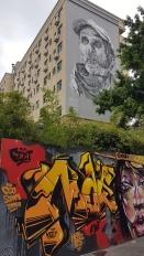JARDIN ORANGE STREET-ART ECB HENDRIK