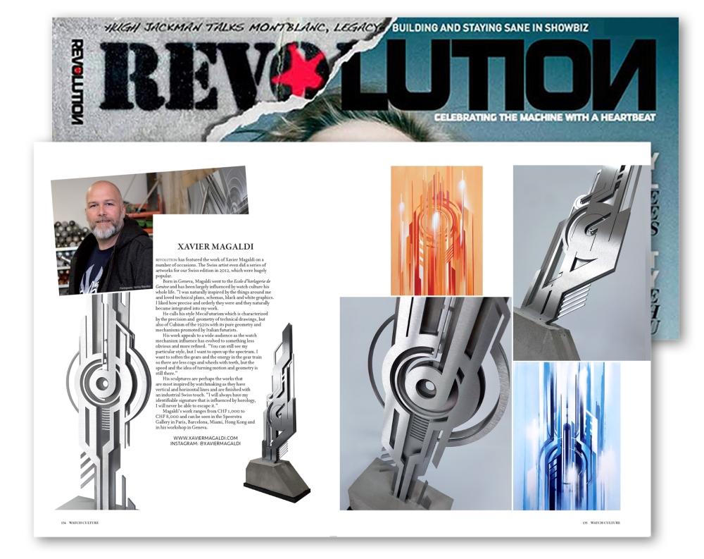 Revolution interstellar Blue 1 Magaldi