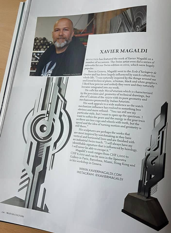Revolution Watch magazine Magaldi 04