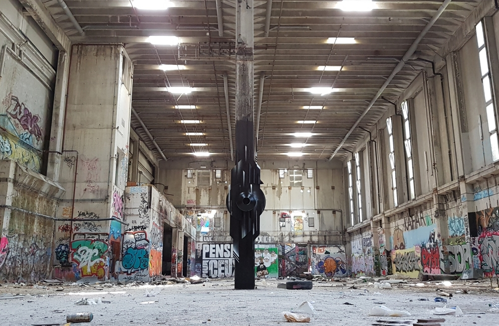The Guardian URBEX MAGALDI Graffiti Sculpture 2018 -